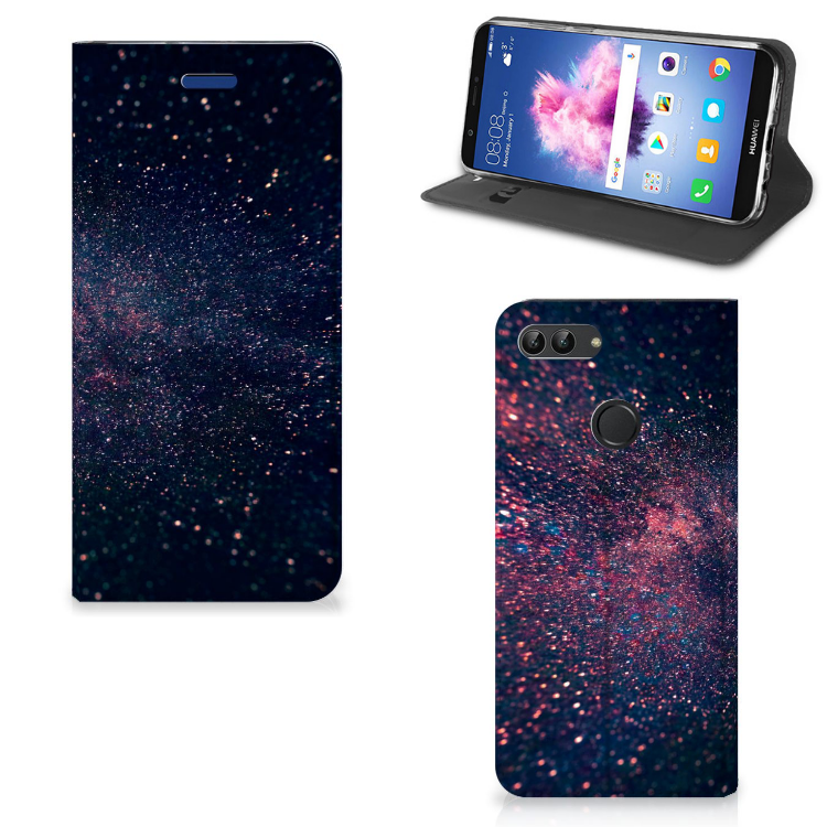 Huawei P Smart Stand Case Stars