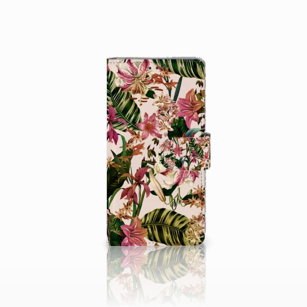 Sony Xperia Z Uniek Boekhoesje Flowers