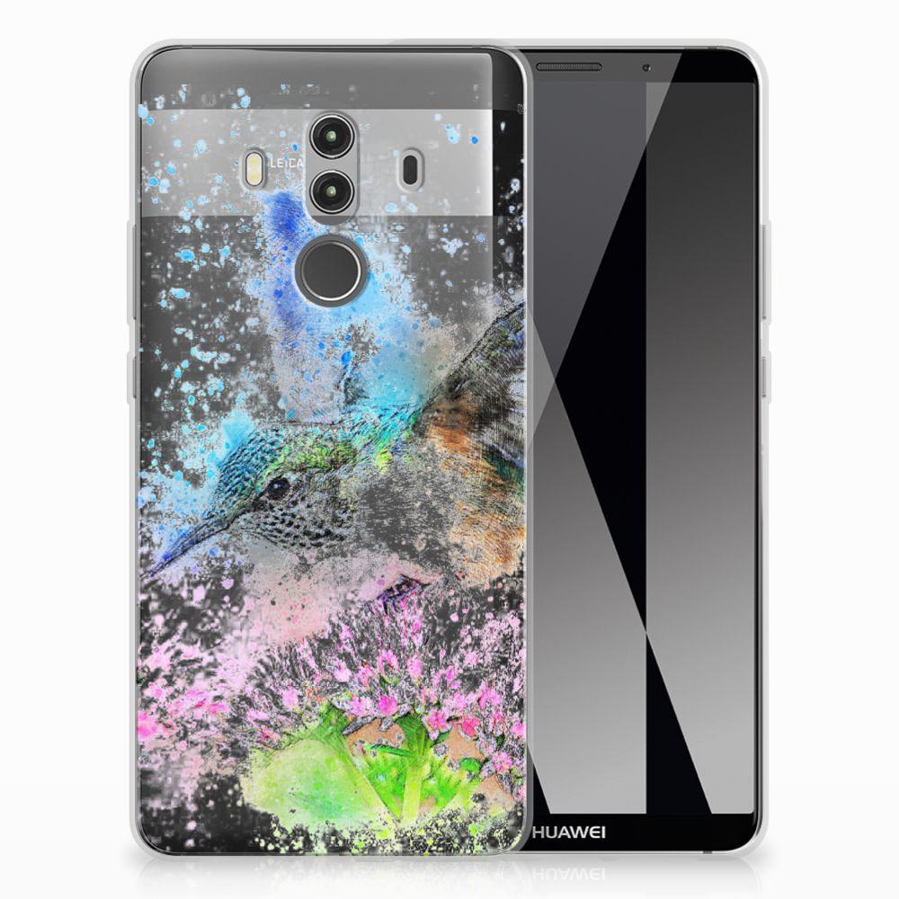 Huawei Mate 10 Pro TPU Hoesje Design Vogel