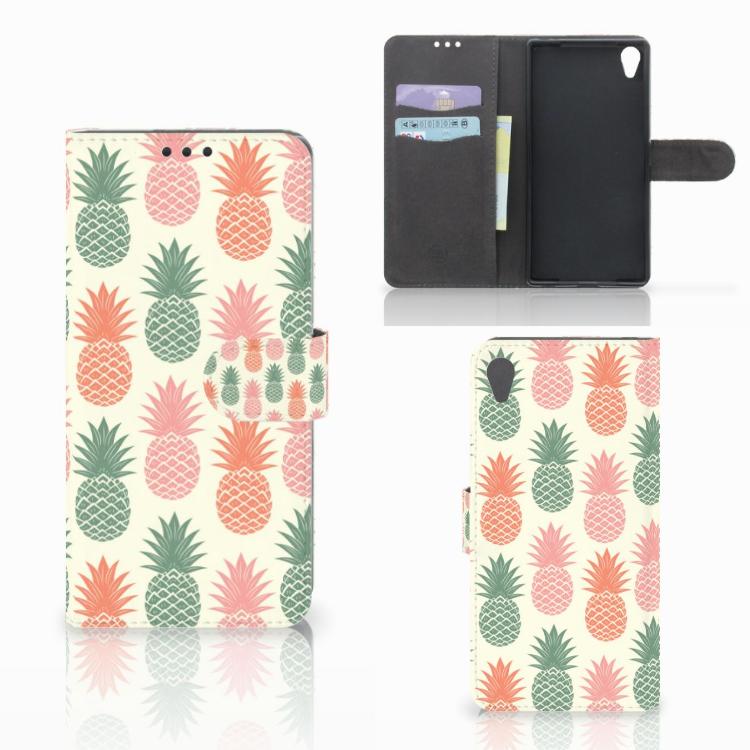 Sony Xperia Z5 Premium Book Cover Ananas