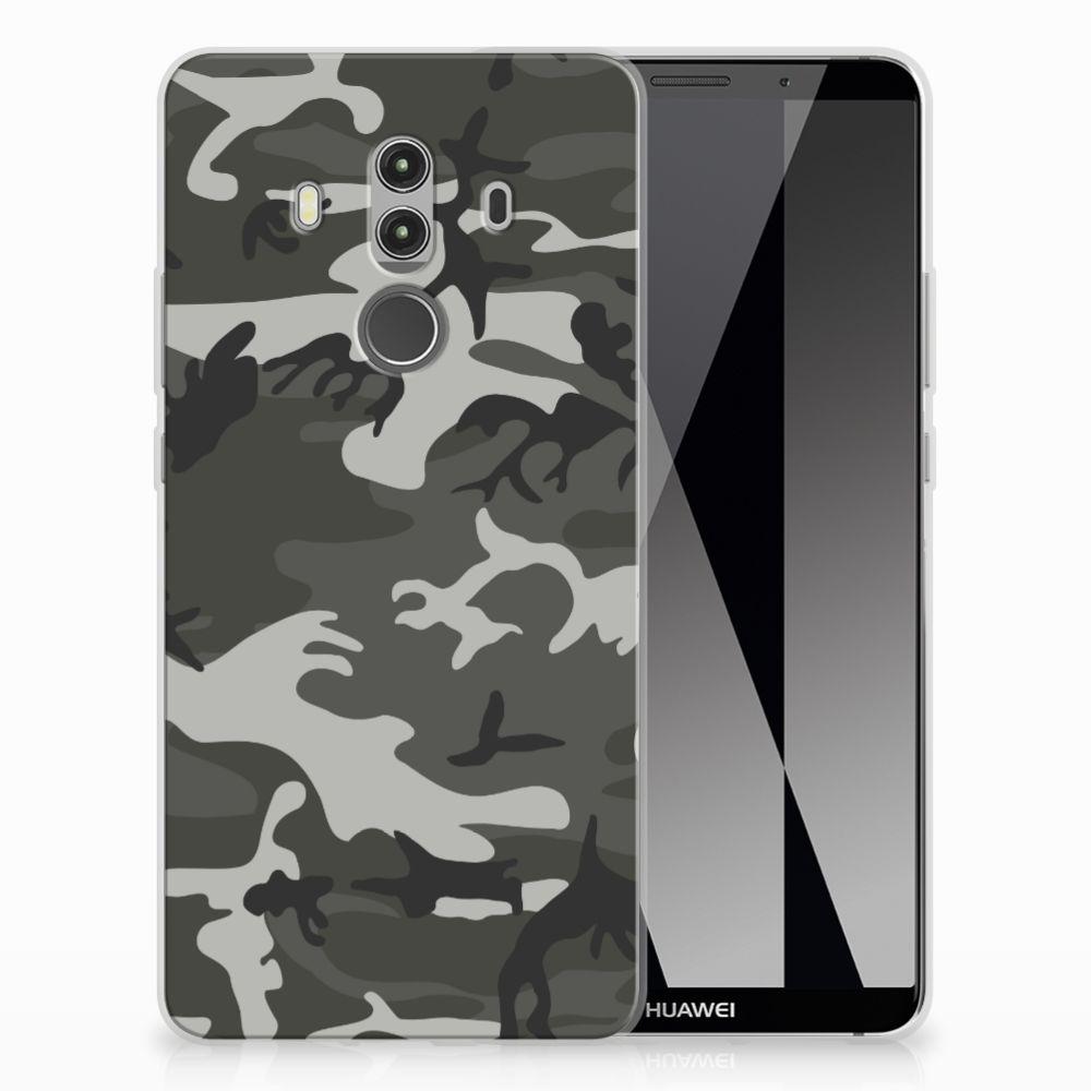 Huawei Mate 10 Pro Uniek TPU Hoesje Army Light