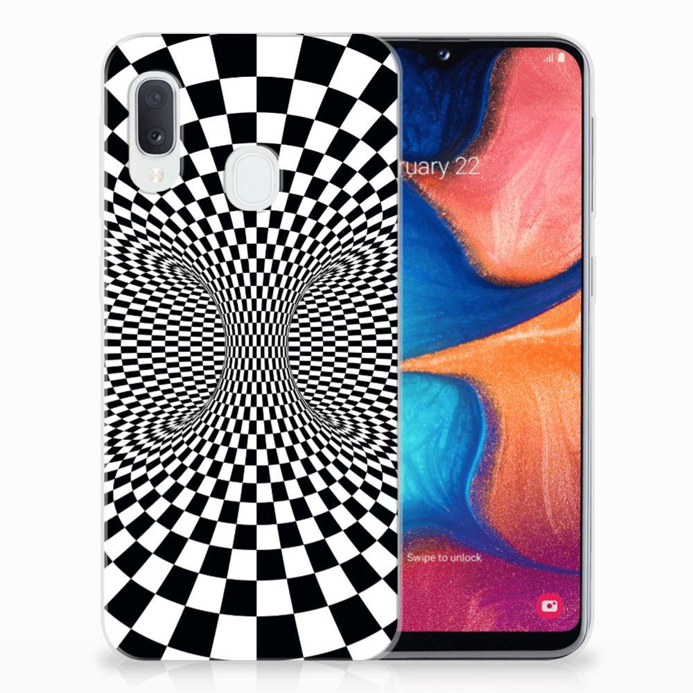 Samsung Galaxy A20e TPU Hoesje Illusie