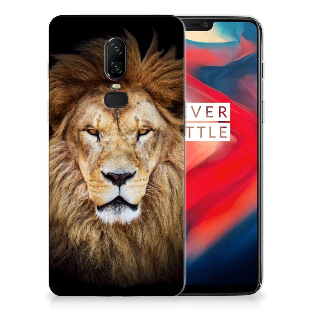 OnePlus 6 TPU Hoesje Leeuw