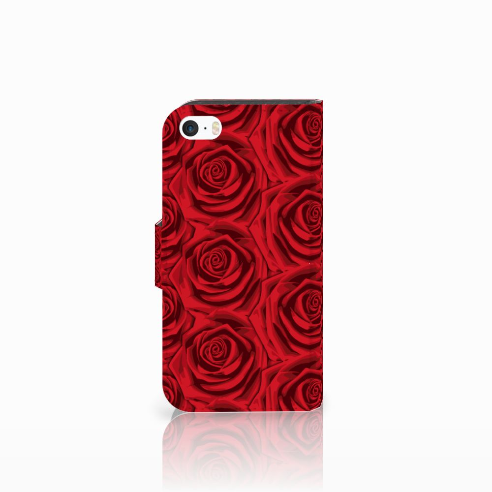 Apple iPhone 5 | 5s | SE Hoesje Red Roses