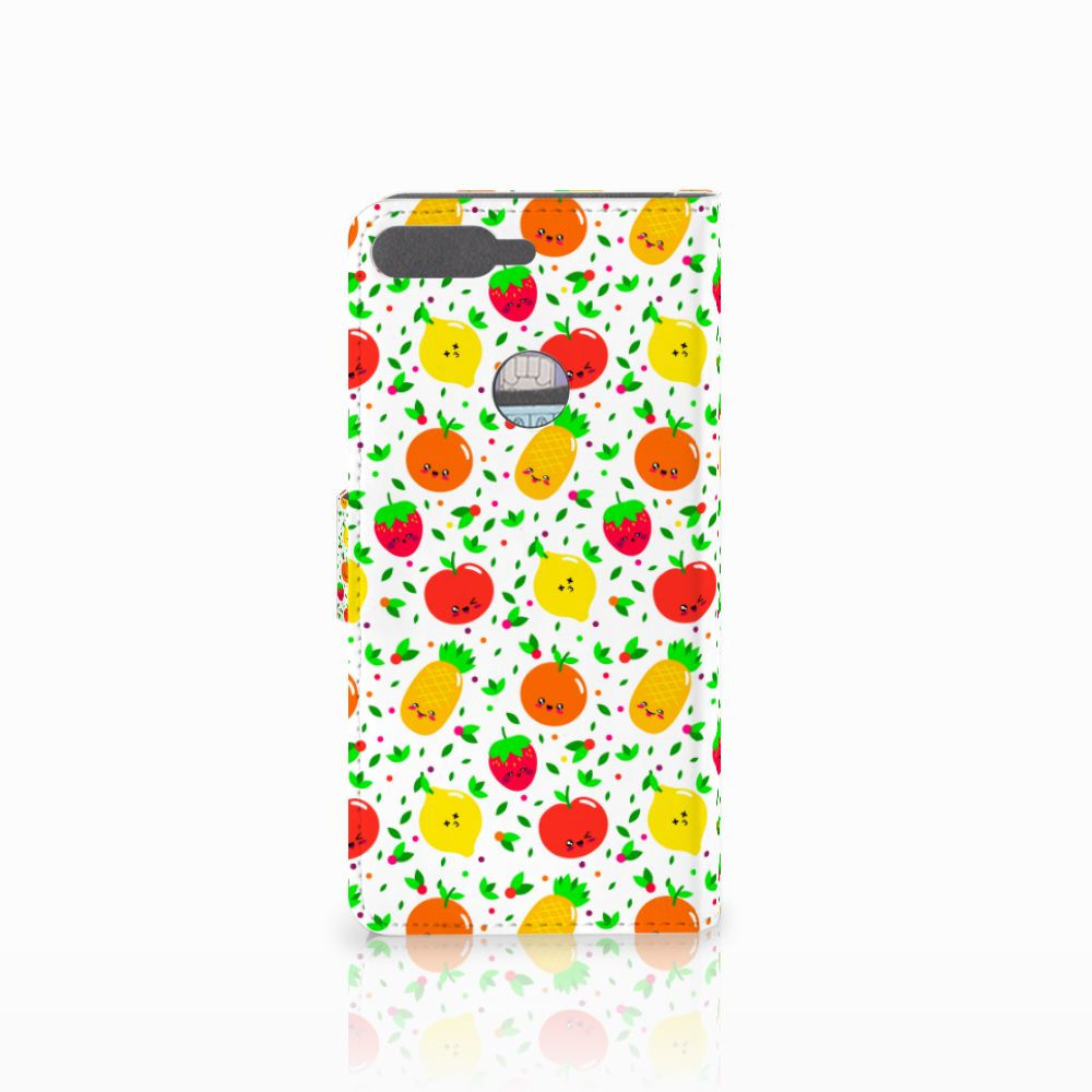 Huawei Y7 2018 Book Cover Fruits