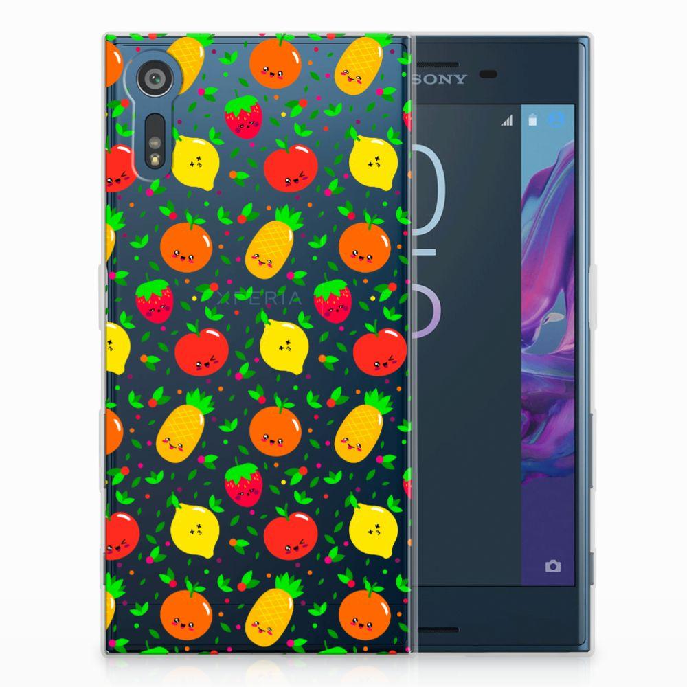 Sony Xperia XZs | XZ TPU Hoesje Design Fruits