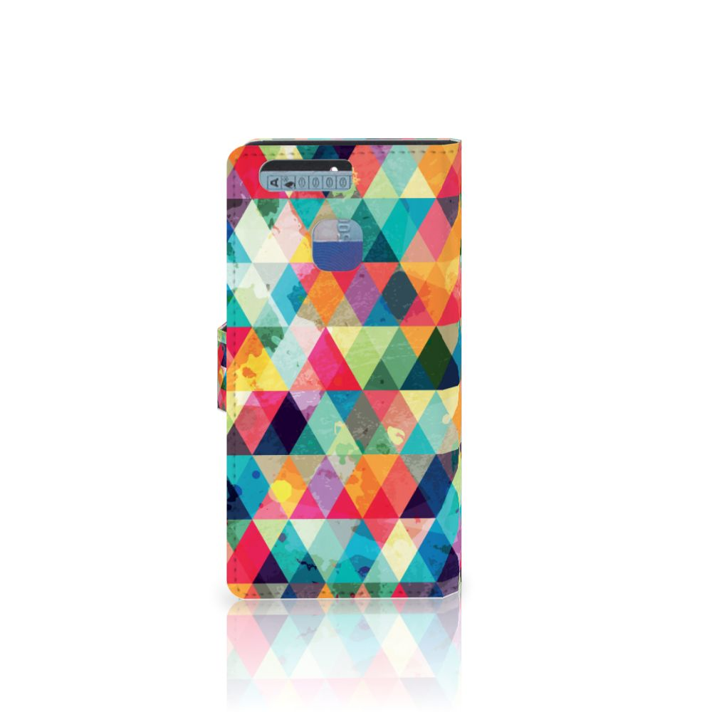 Huawei P9 Telefoon Hoesje Geruit