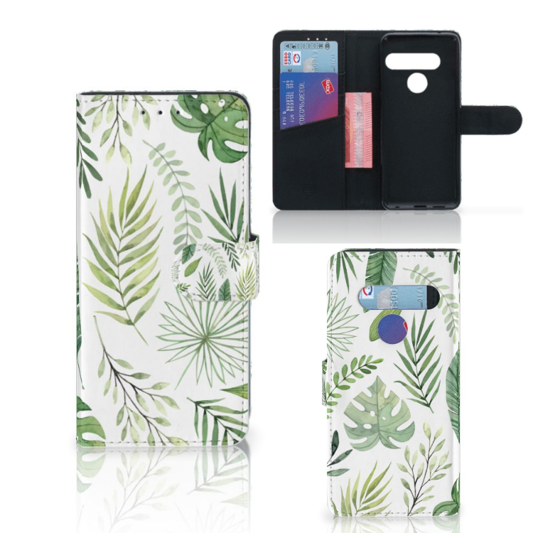 LG G8s Thinq Hoesje Leaves