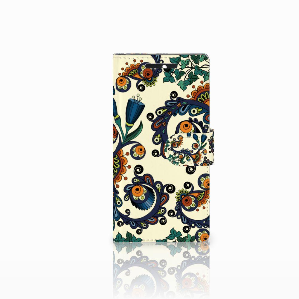 Wallet Case HTC Desire 628 Barok Flower