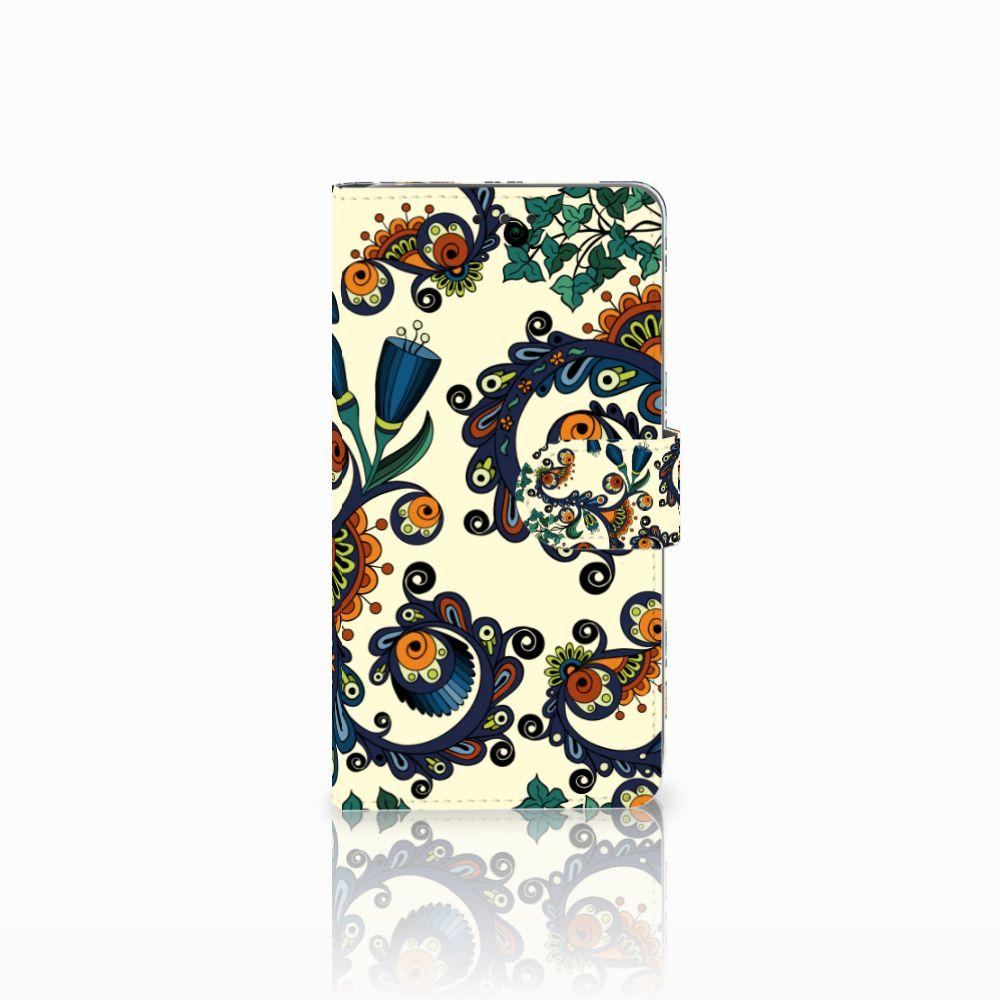 Wallet Case LG G4 Barok Flower