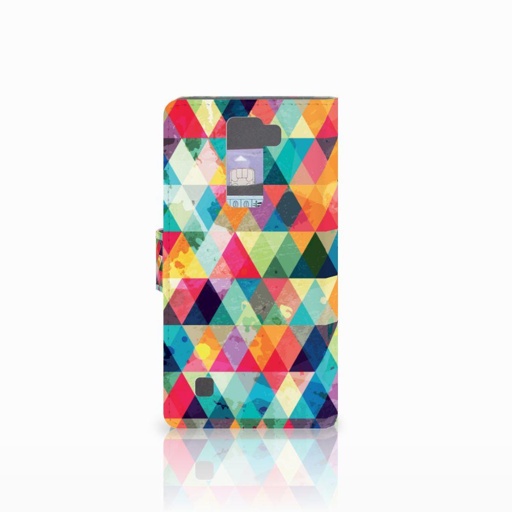LG K8 Telefoon Hoesje Geruit