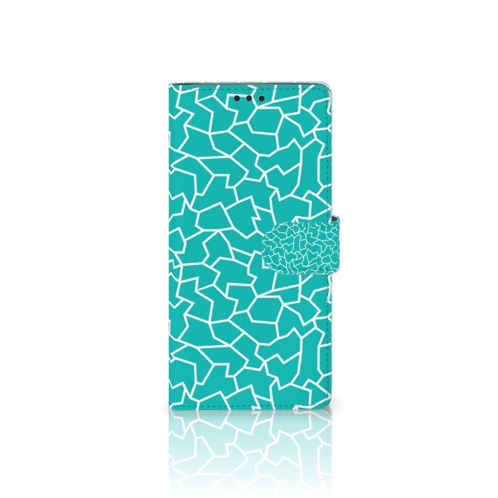 Sony Xperia XA Ultra Boekhoesje Design Cracks Blue