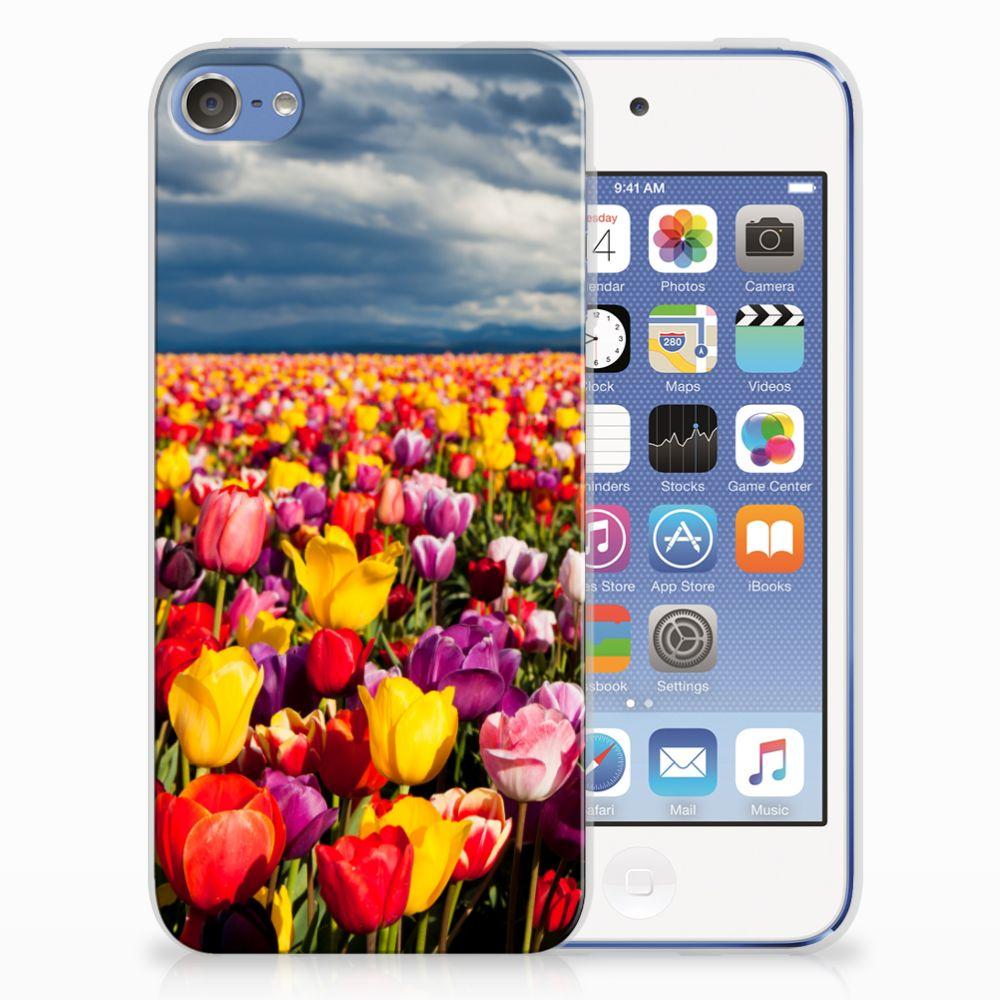Apple iPod Touch 5 | 6 Uniek TPU Hoesje Tulpen