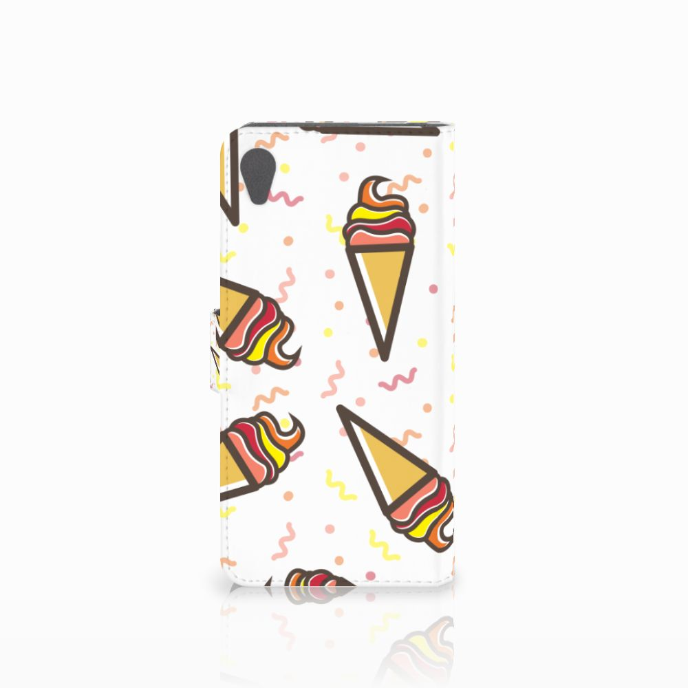 Sony Xperia Z5 Premium Book Cover Icecream