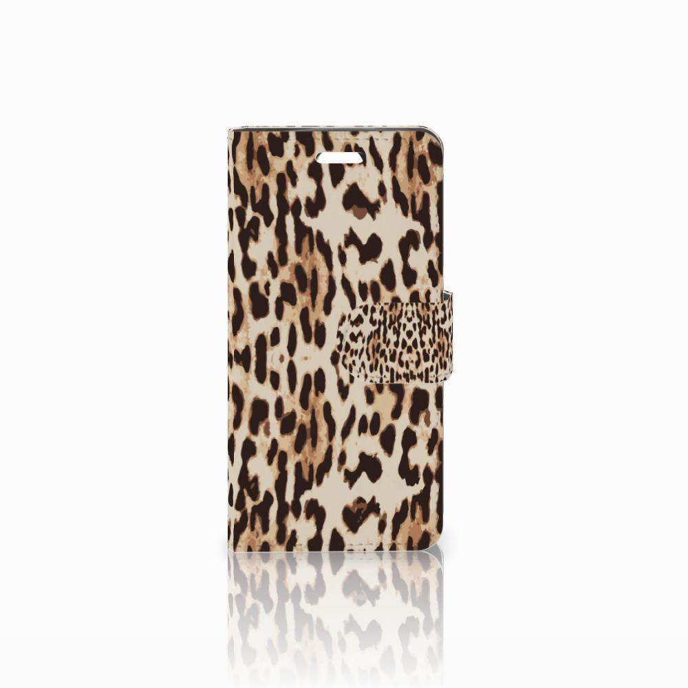 Acer Liquid Z330 Uniek Boekhoesje Leopard