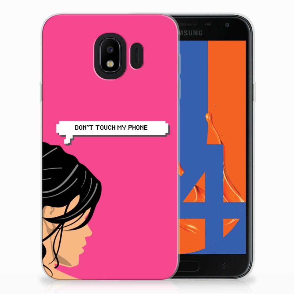 Samsung Galaxy J4 2018 Uniek TPU Hoesje Woman DTMP