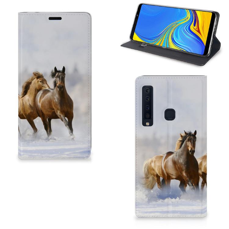 Samsung Galaxy A9 (2018) Hoesje maken Paarden