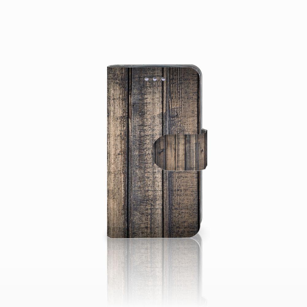 Samsung Galaxy S3 Mini Boekhoesje Design Steigerhout
