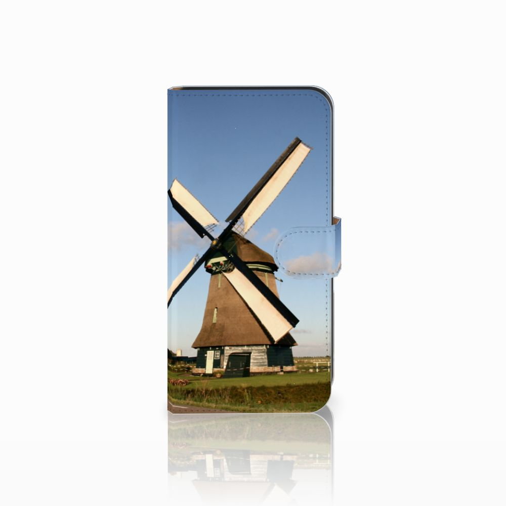 Samsung Galaxy E7 Uniek Boekhoesje Molen