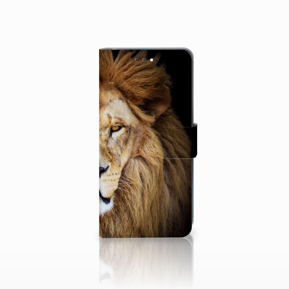 Huawei Y7 2018 Boekhoesje Design Leeuw