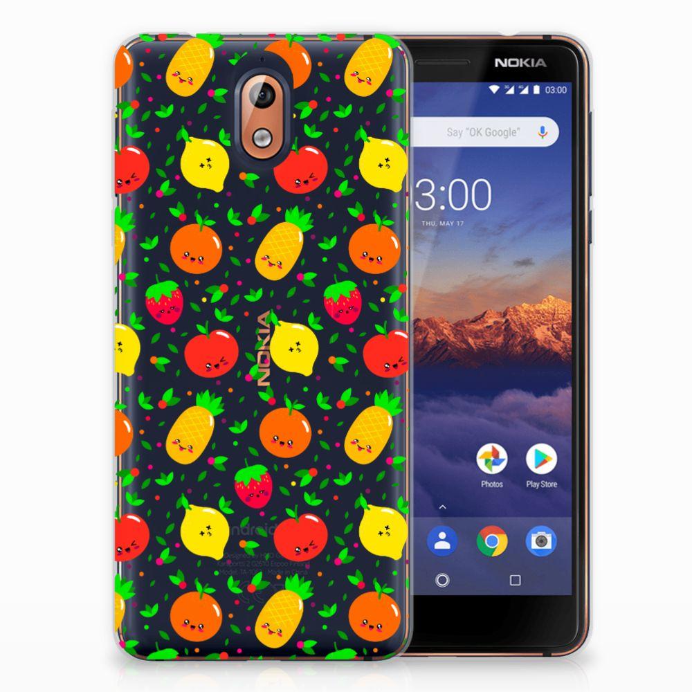 Nokia 3.1 (2018) TPU Hoesje Design Fruits