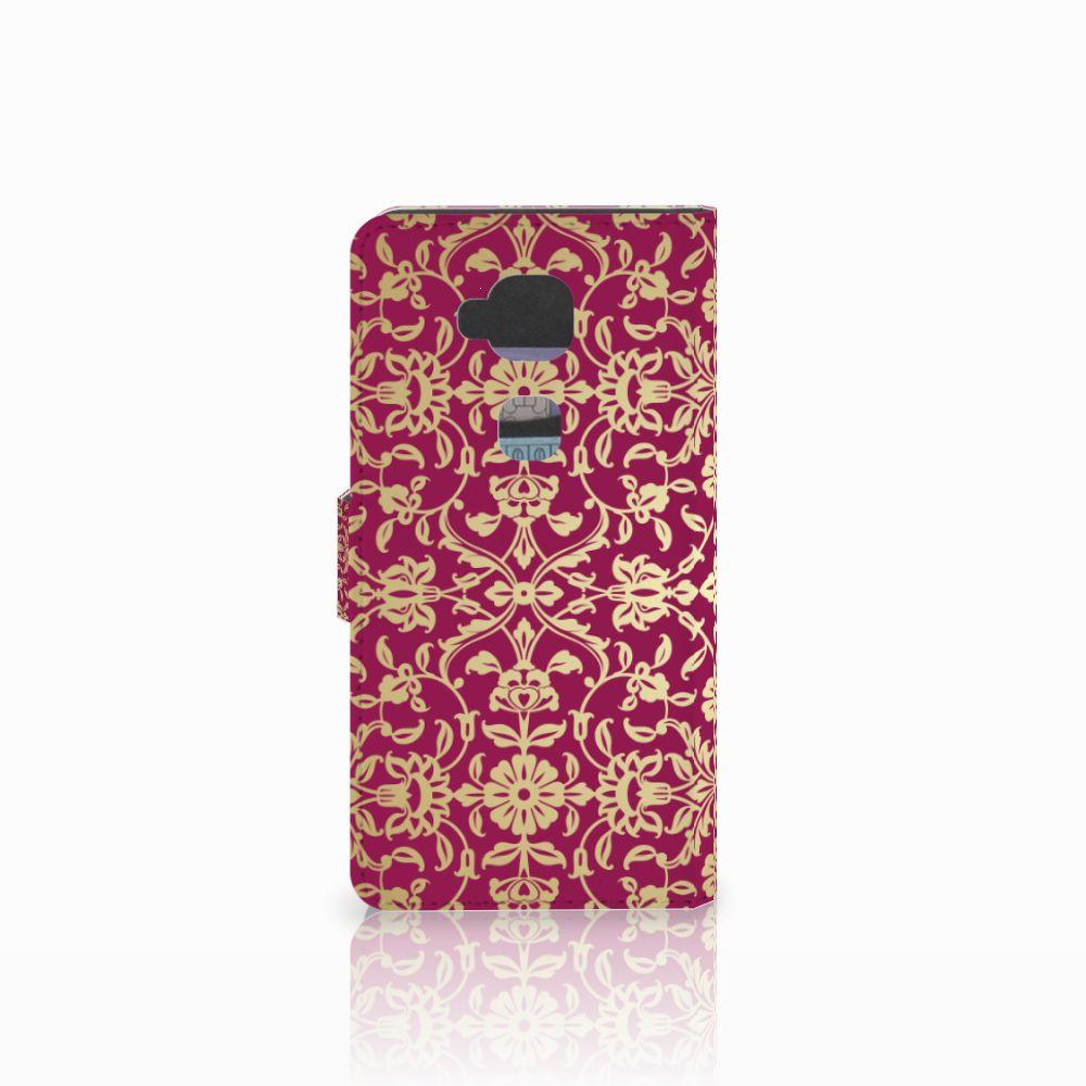 Wallet Case Huawei G8 Barok Pink