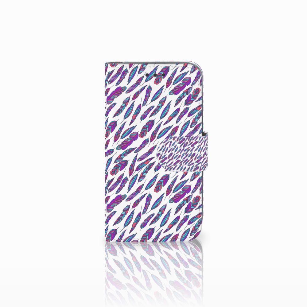 Samsung Galaxy Core Prime Boekhoesje Design Feathers Color