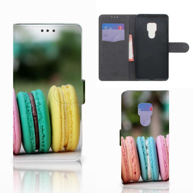 Huawei Mate 20 Book Cover Macarons