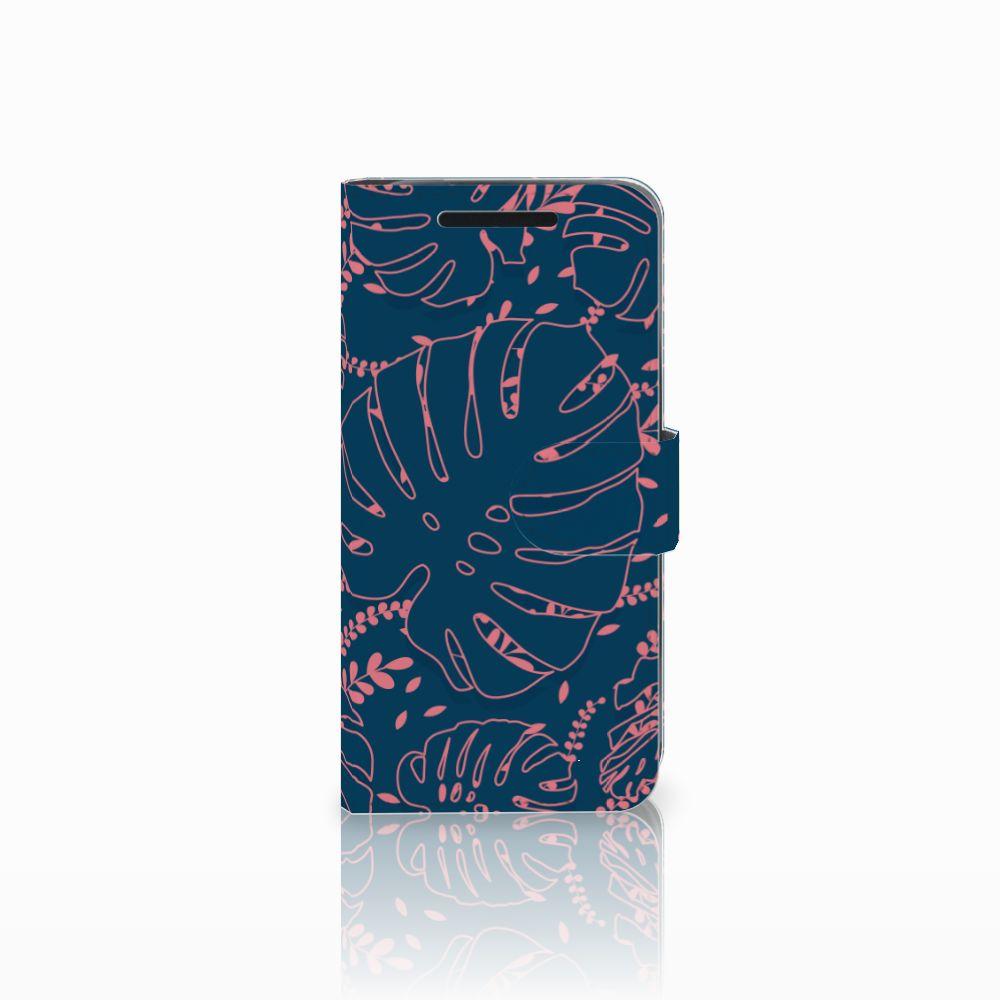 HTC One M9 Boekhoesje Design Palm Leaves