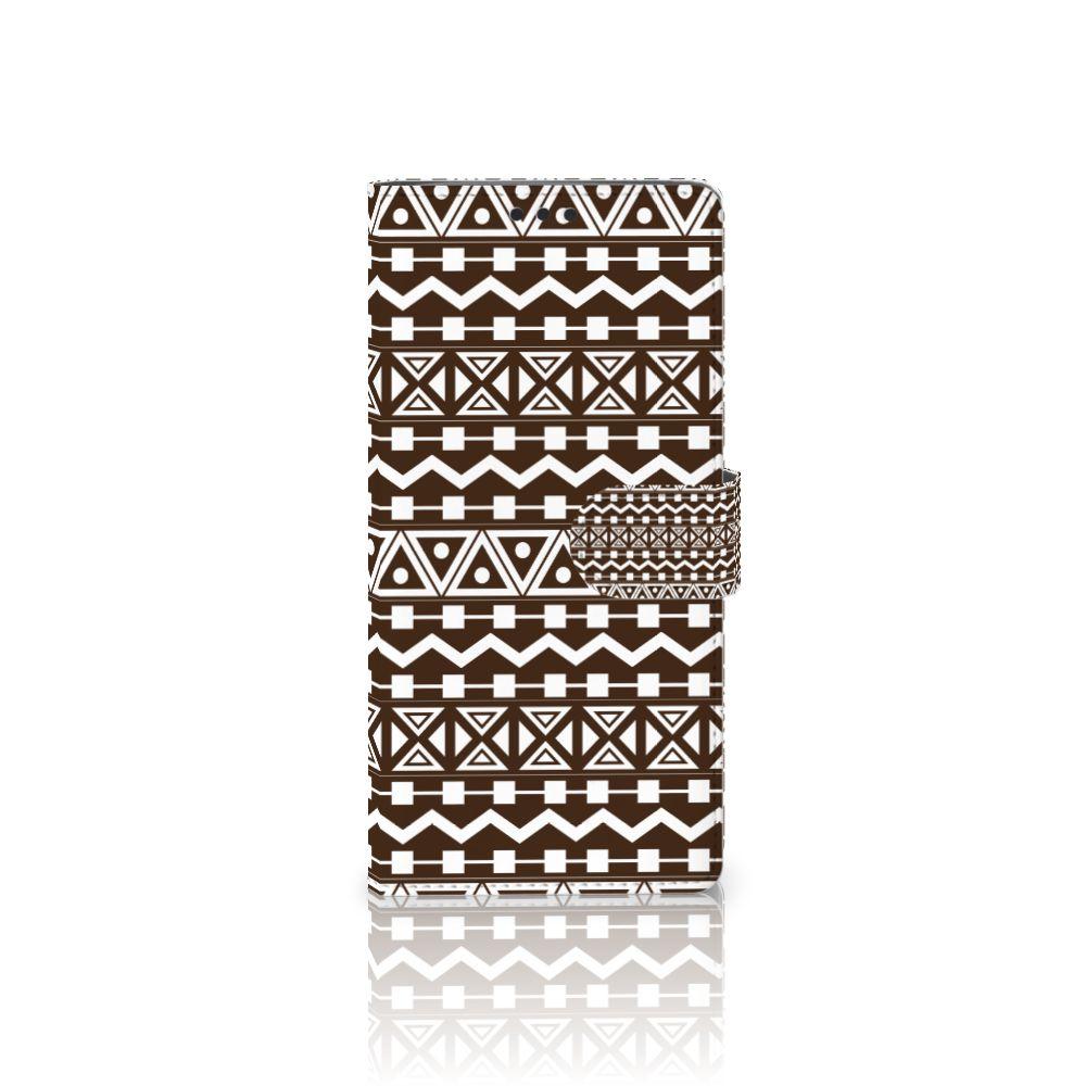 Sony Xperia XA Ultra Telefoon Hoesje Aztec Brown