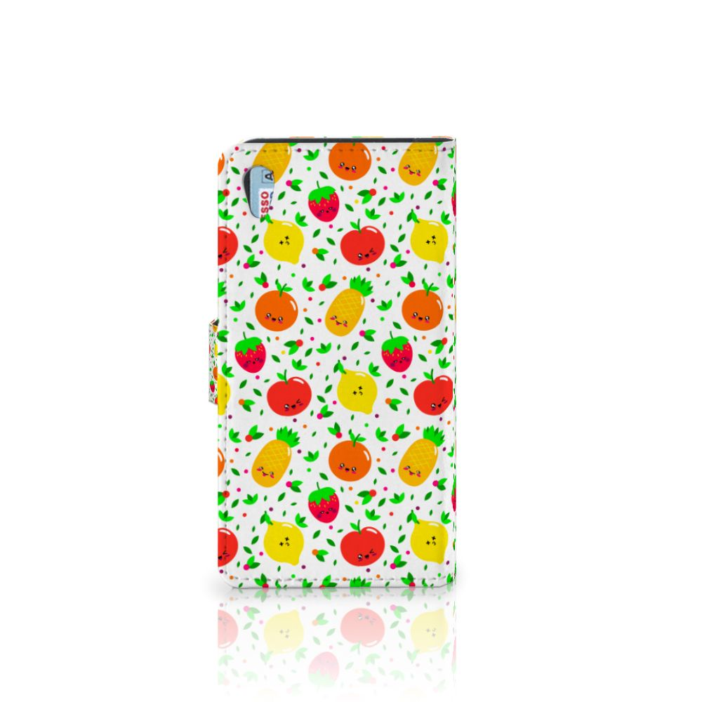 Sony Xperia Z2 Book Cover Fruits
