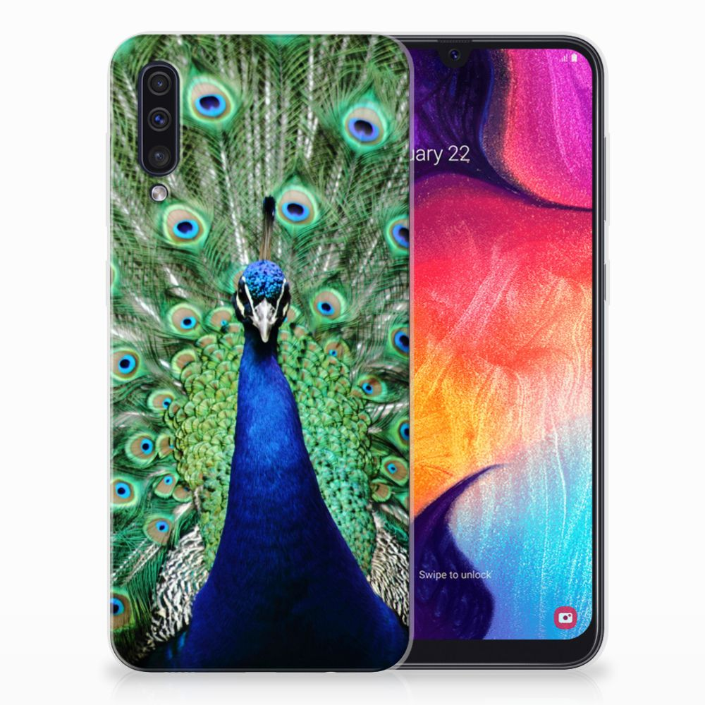 Samsung Galaxy A50 TPU Hoesje Pauw