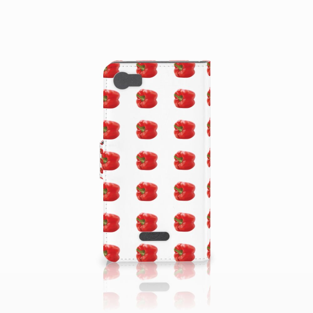Wiko Fever (4G) Book Cover Paprika Red