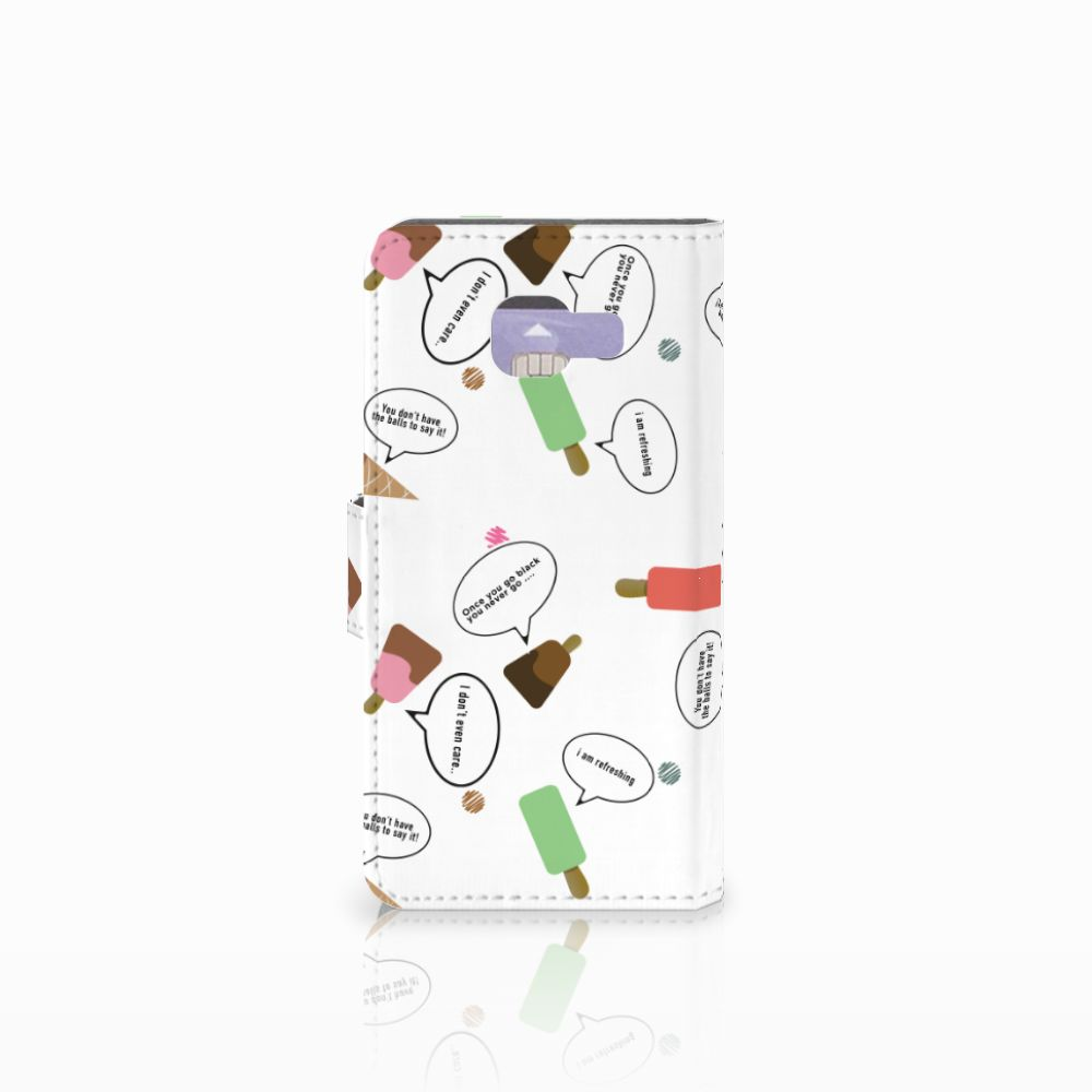 Samsung Galaxy A3 2016 Book Cover IJsjes