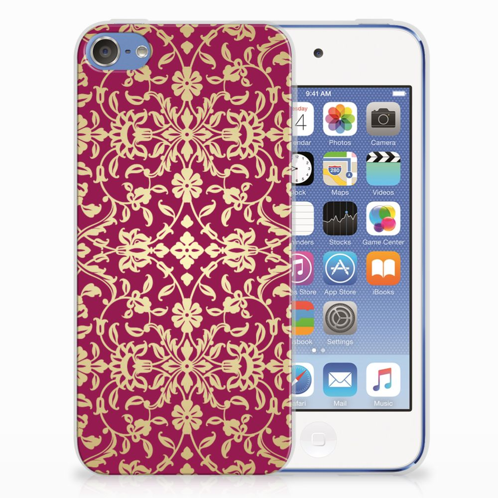 Apple iPod Touch 5 | 6 TPU Hoesje Design Barok Pink