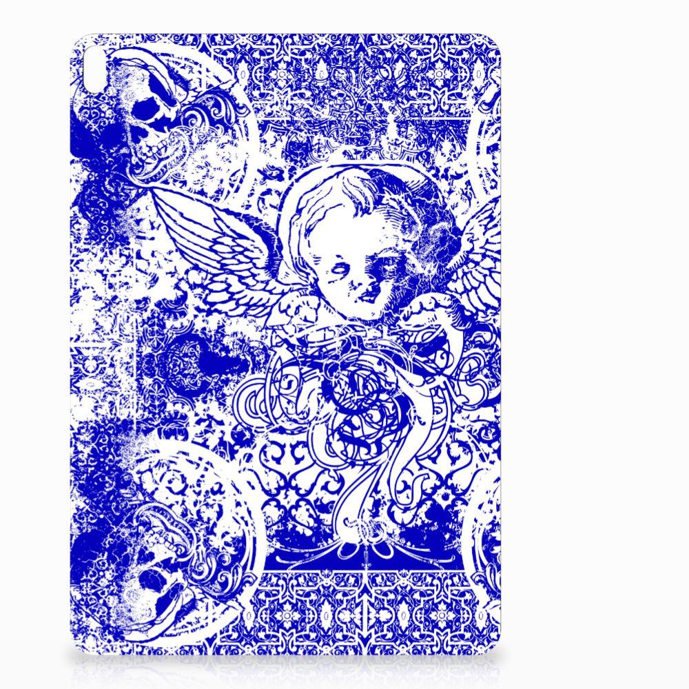 Tablet BackCover Apple iPad Pro 10.5 Angel Skull Blauw