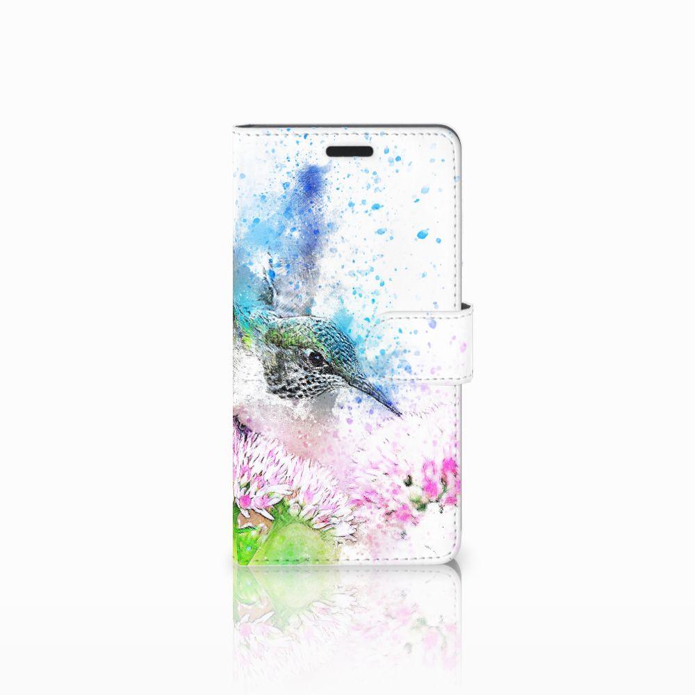Samsung Galaxy A7 2015 Boekhoesje Design Vogel