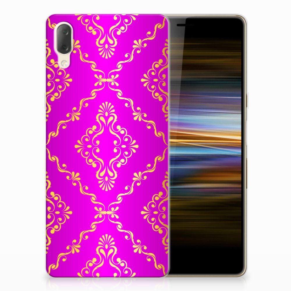 Siliconen Hoesje Sony Xperia L3 Barok Roze