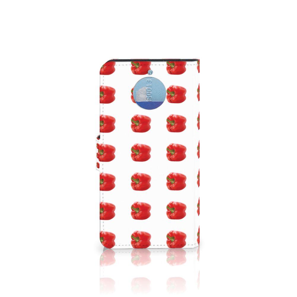 Motorola Moto G5S Plus Book Cover Paprika Red