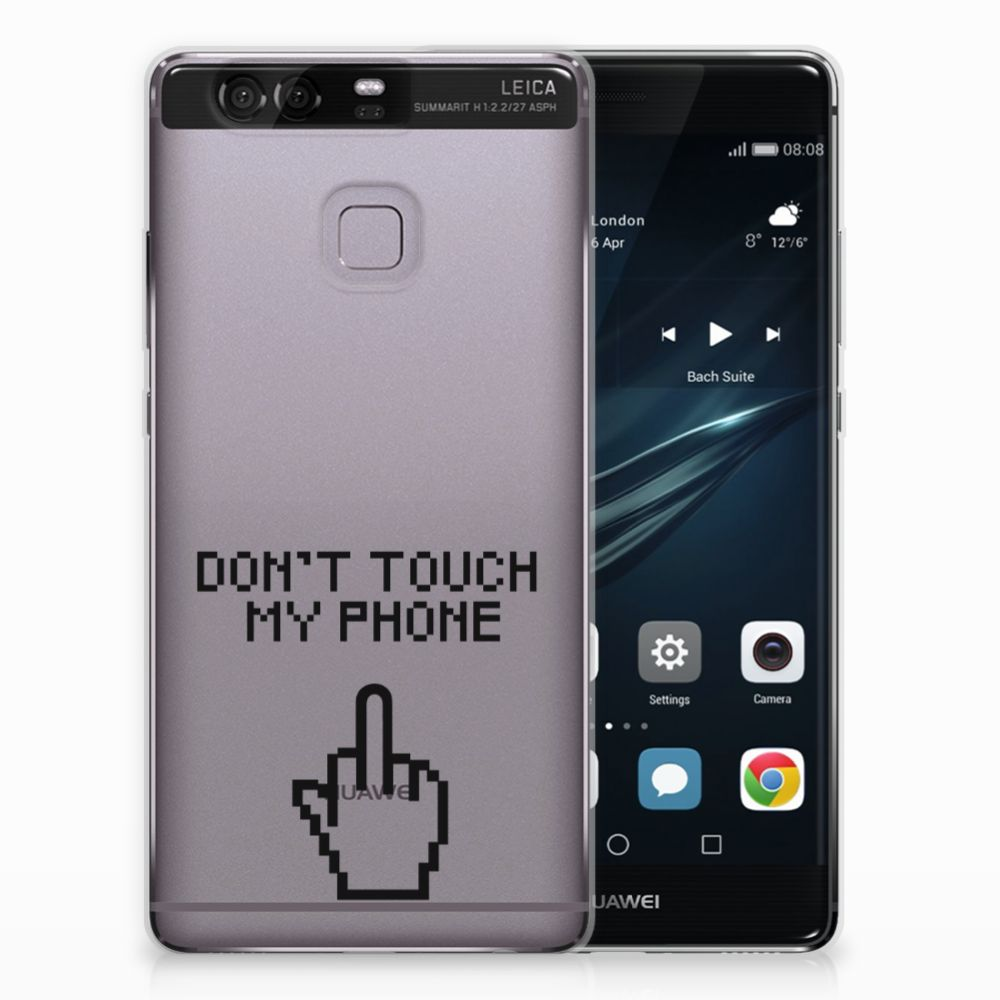 Huawei Ascend P9 Uniek TPU Hoesje Finger DTMP