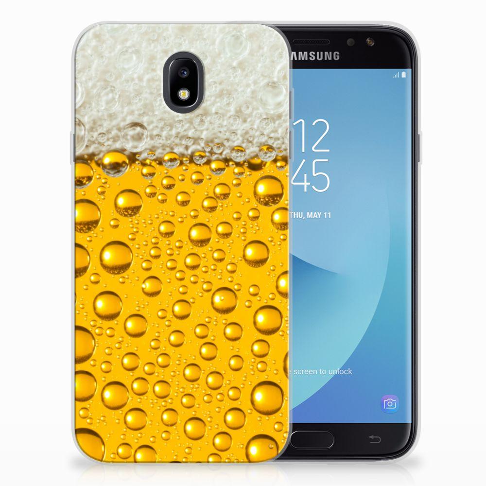Samsung Galaxy J7 2017 | J7 Pro Siliconen Case Bier