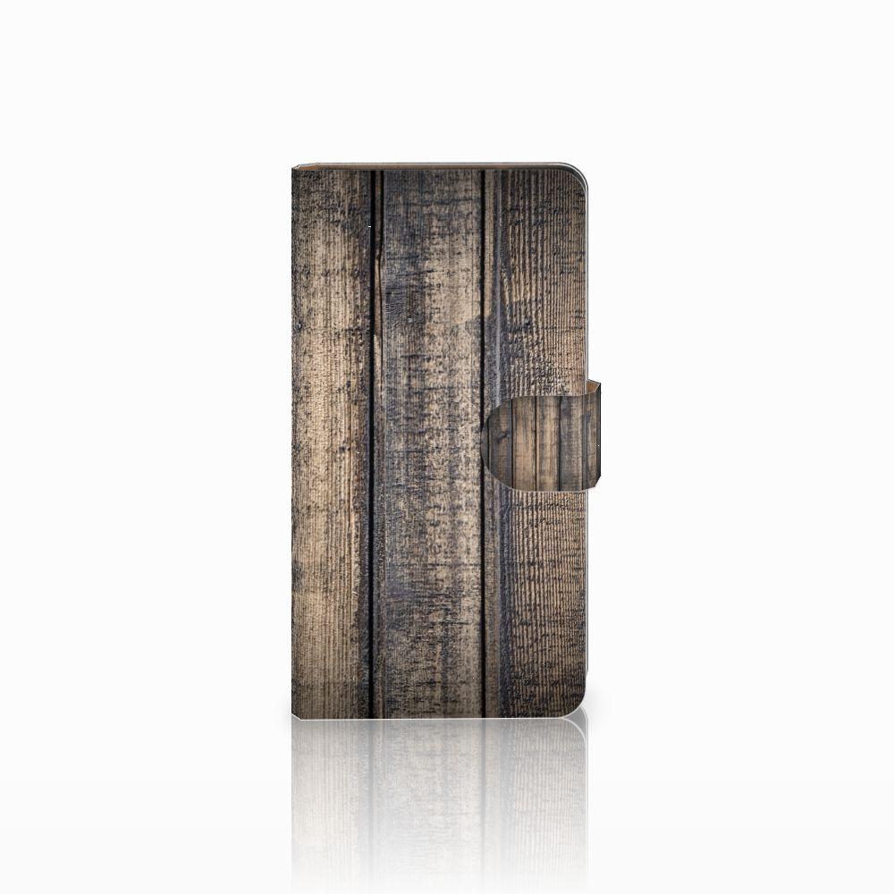 Huawei Ascend G700 Boekhoesje Design Steigerhout