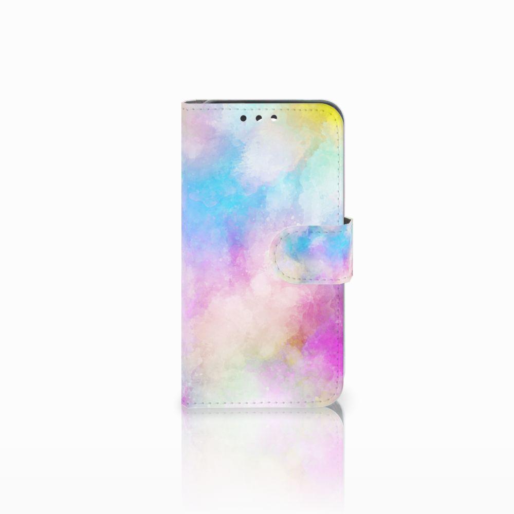 Huawei Y5 Y560 Uniek Boekhoesje Watercolor Light