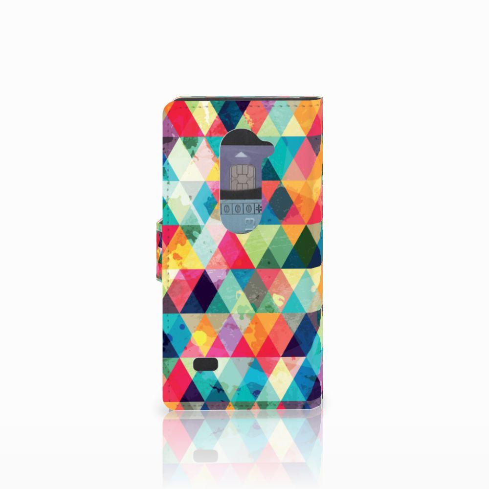 LG Leon 4G Telefoon Hoesje Geruit