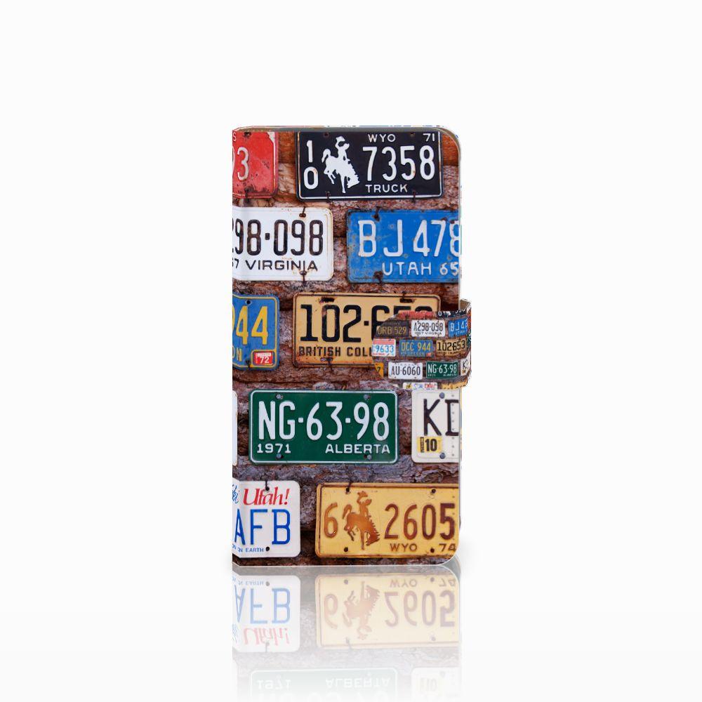 Google Pixel Telefoonhoesje met foto Kentekenplaten