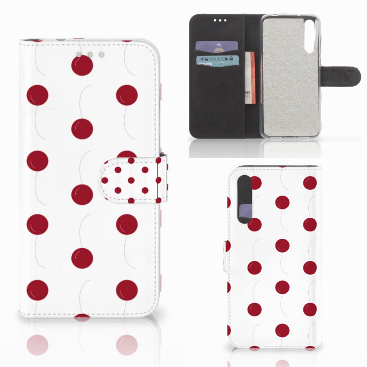 Huawei P20 Pro Book Cover Cherries