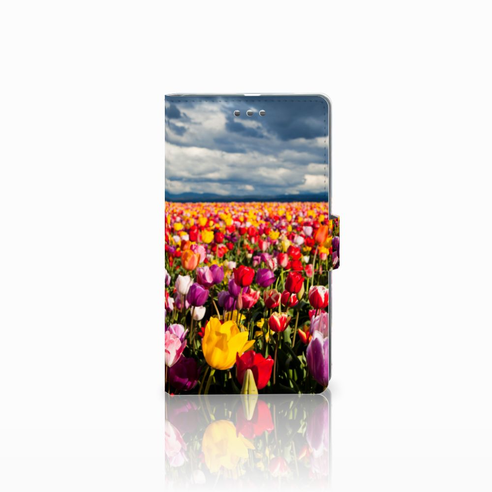 Microsoft Lumia 950 XL Uniek Boekhoesje Tulpen