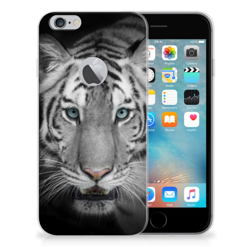 Apple iPhone 6 Plus | 6s Plus Uniek TPU Hoesje Tijger