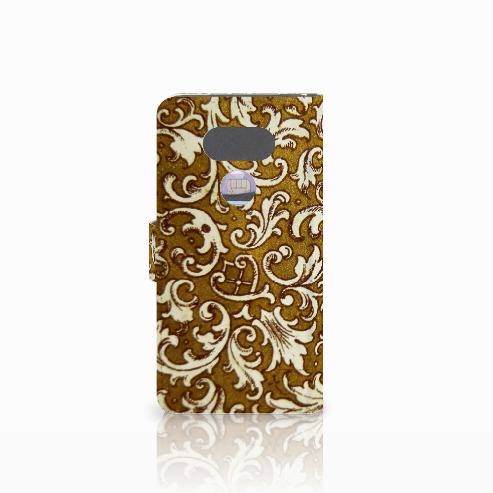 Wallet Case LG G5 Barok Goud