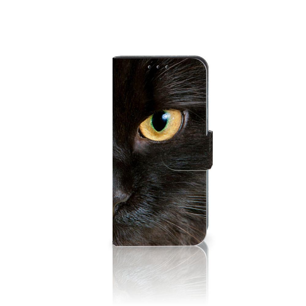 Motorola Moto G4 Play Uniek Boekhoesje Zwarte Kat